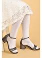 Kiko Kids Kiko 766 Çatlak Günlük Kız Çocuk 3 Cm Topuk Sandalet Ayakkabı Gri
